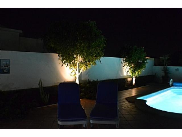 Pool lighting - Villa Ahlmatel, Playa Blanca, Lanzarote